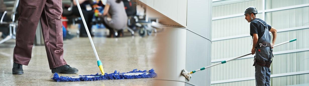 Entretien et nettoyage de façades d'immeubles