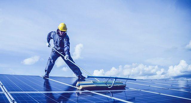 nettoyage panneaux solaires à Genève